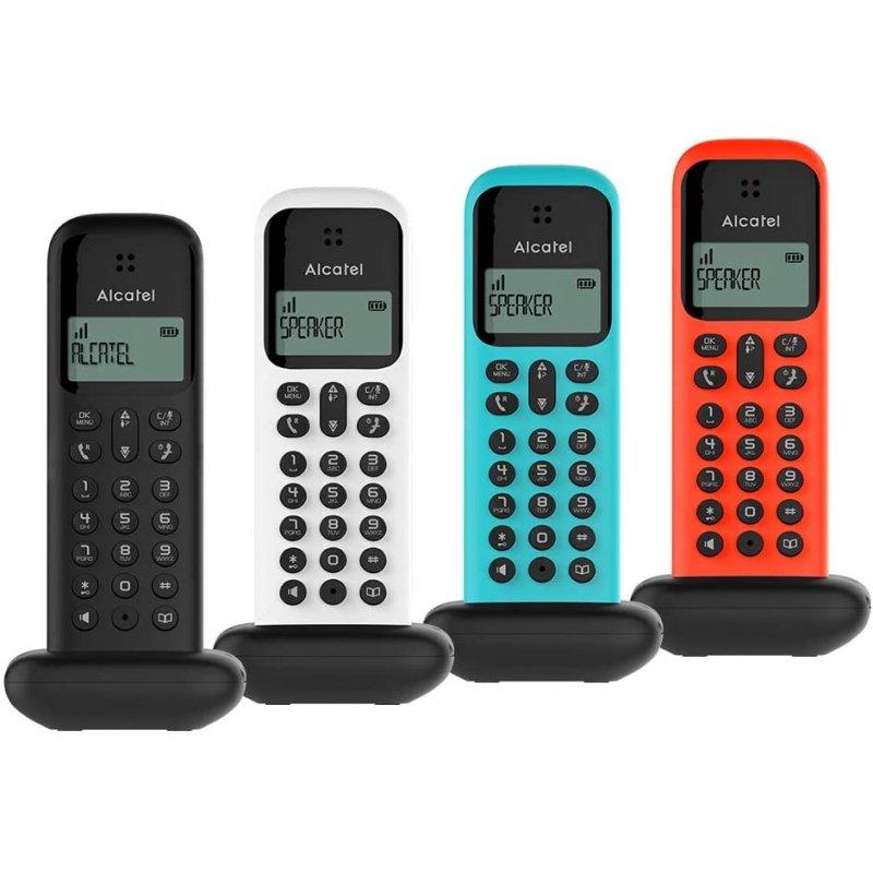 Teléfono Inalámbrico Alcatel D285 Turquesa