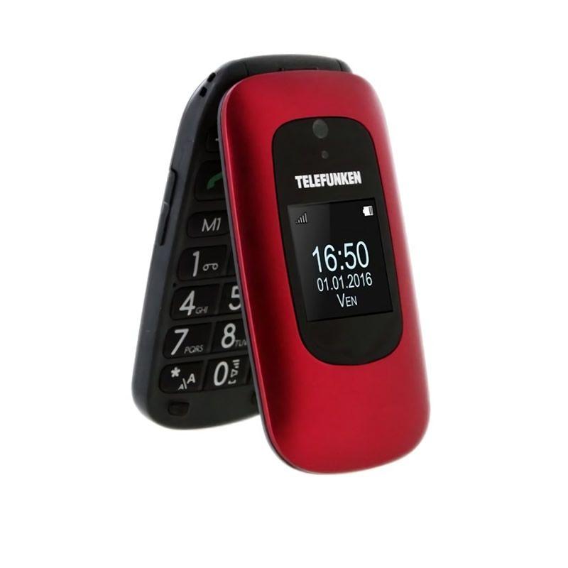 Teléfono Móvil Telefunken TM 250 Izy Rojo
