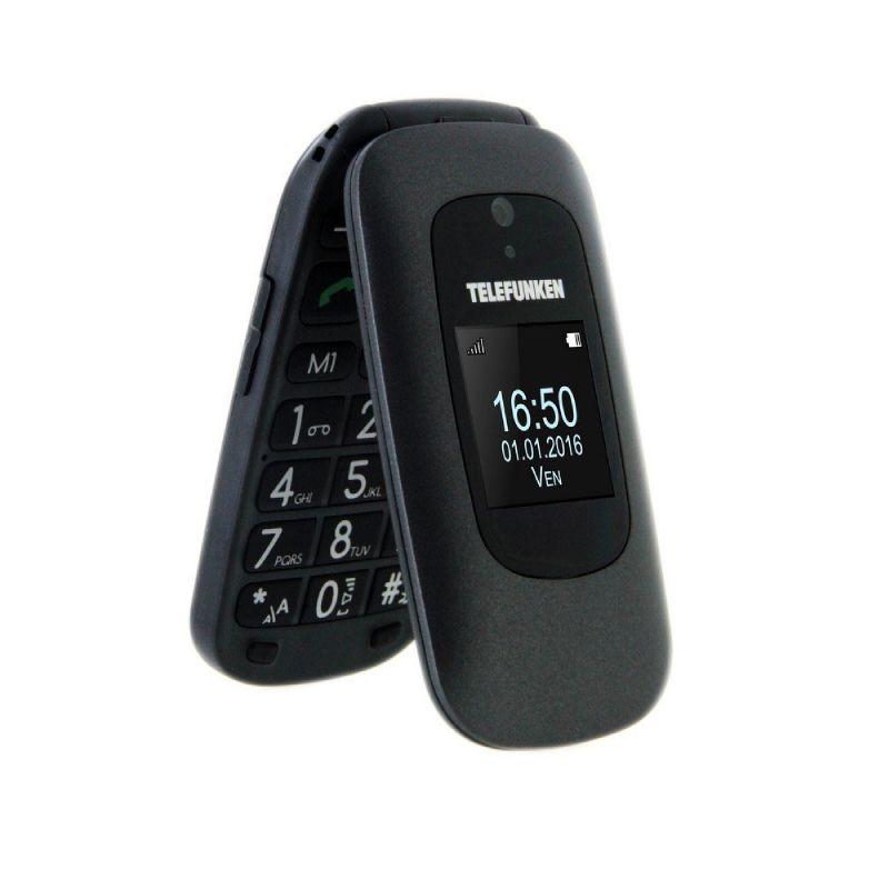 Teléfono Móvil Telefunken TM 250 Izy Negro
