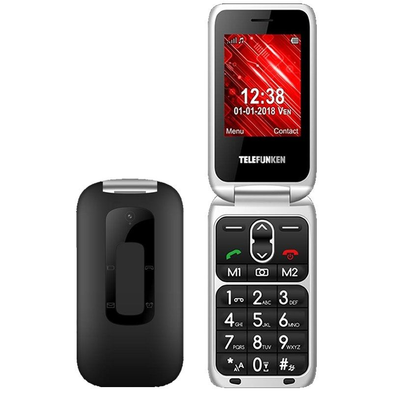 Teléfono Móvil Telefunken TM 240 Cosi Negro