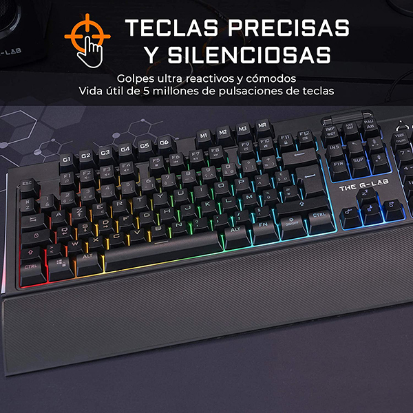 Teclado Gaming The G-Lab Tellurium RGB