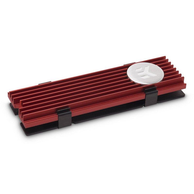 Dispador para SSD M.2 NVMe EKWB EK-M.2 NVMe Heatsink Rojo