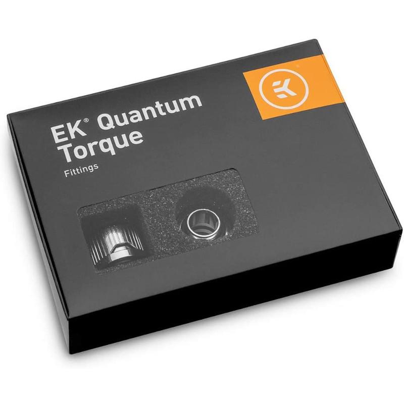 Paquete de 6 racores rígidos de 12mm EKWB Quantum EK Torque HTC-12