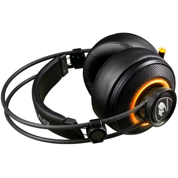 Auriculares Cougar Immersa Pro RGB 7.1 Negro