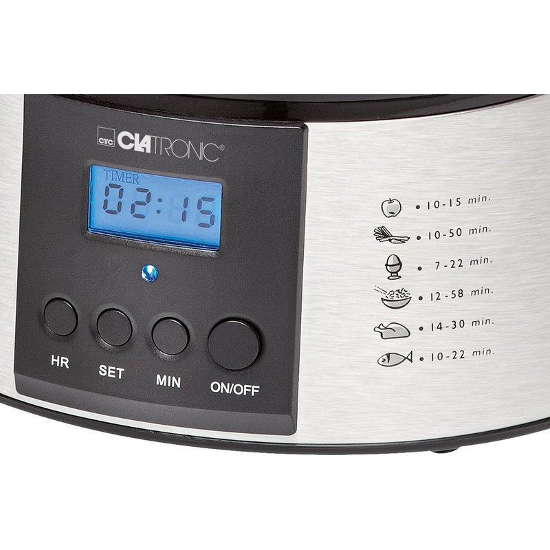 Cocedora al Vapor Clatronic DG3547 800W
