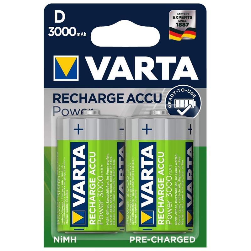 Pila Recargable D Varta 56720 Pack 2 uds