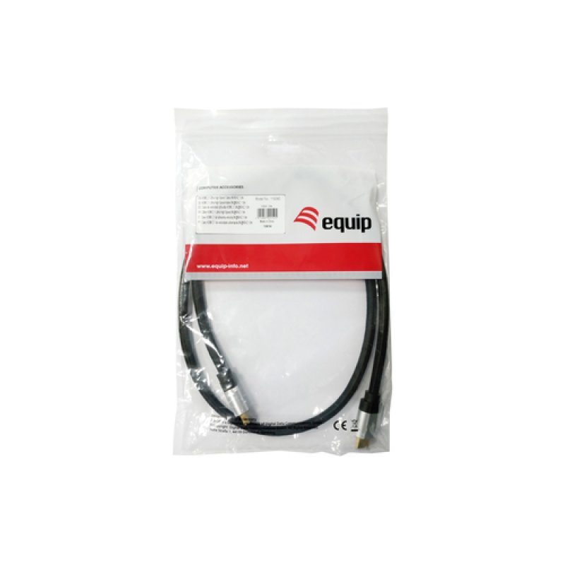 Cable HDMI Equip 119381 2.1 8K de Alta Velocidad 2m