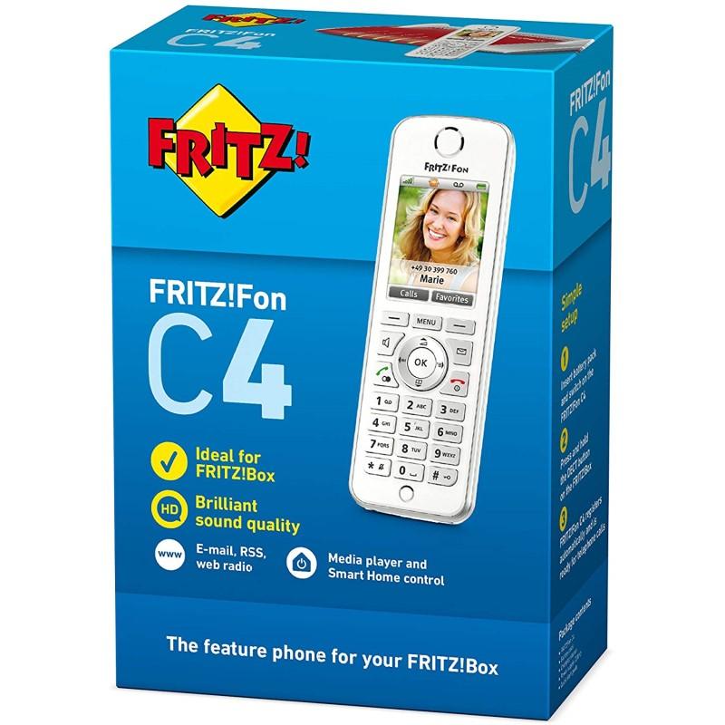 Teléfono DECT AVM FRITZ!Fon C4 Blanco
