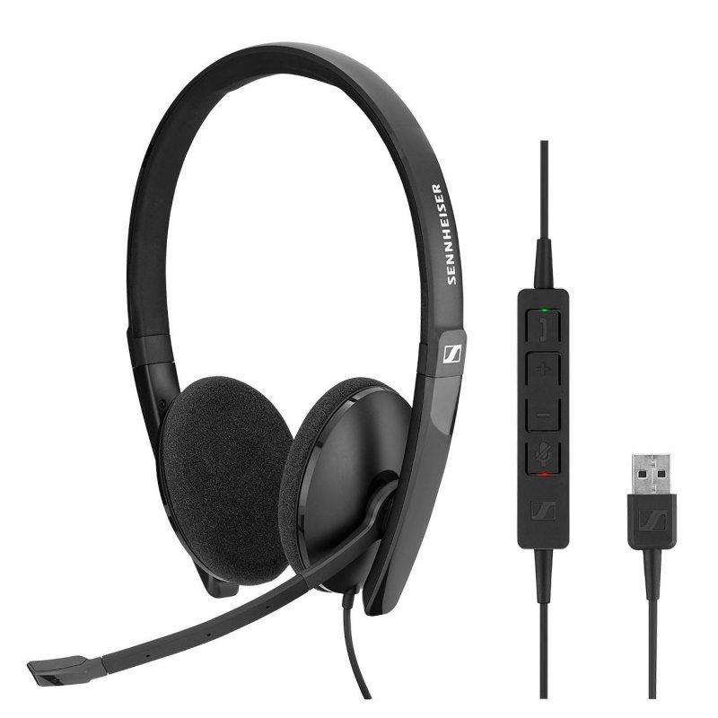 Auriculares Sennheiser SC 160 con Micrófono USB