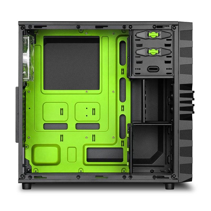 Caja PC ATX Sharkoon VG4-W Verde