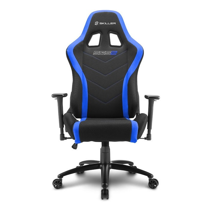Silla Gamer Sharkoon SKILLER SGS2 Negra / Azul
