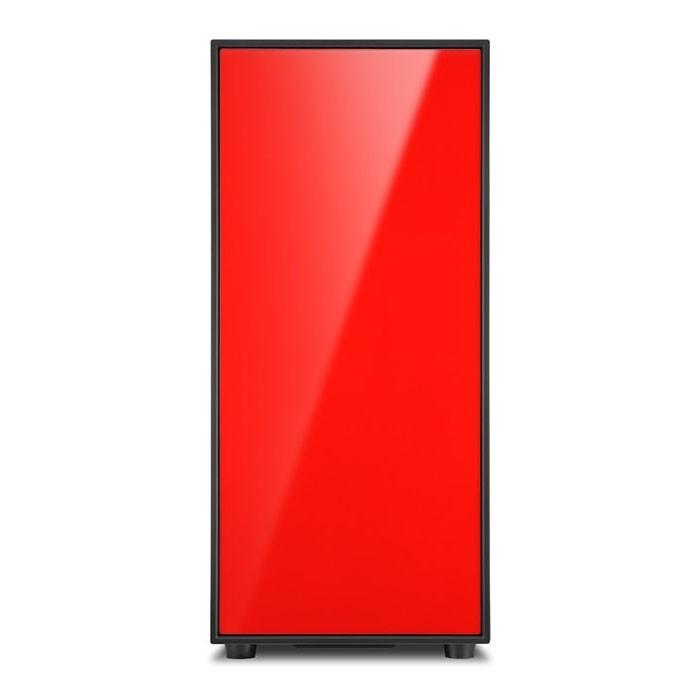 Caja PC ATX Sharkoon AM5 Window Rojo