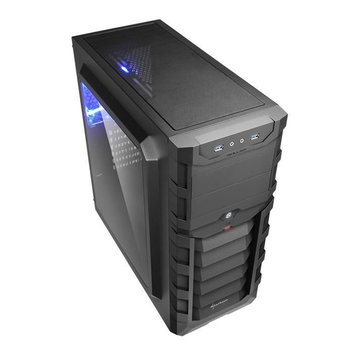 Caja PC ATX Sharkoon Skiller SGC1 Window Negro