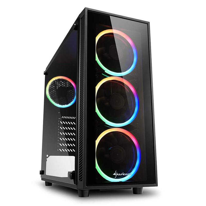 Caja PC ATX Sharkoon TG4 RGB
