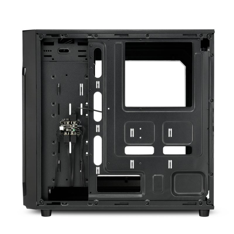 Caja PC Sharkoon VG6-W RGB Cristal Templado USB 3.1 Negra