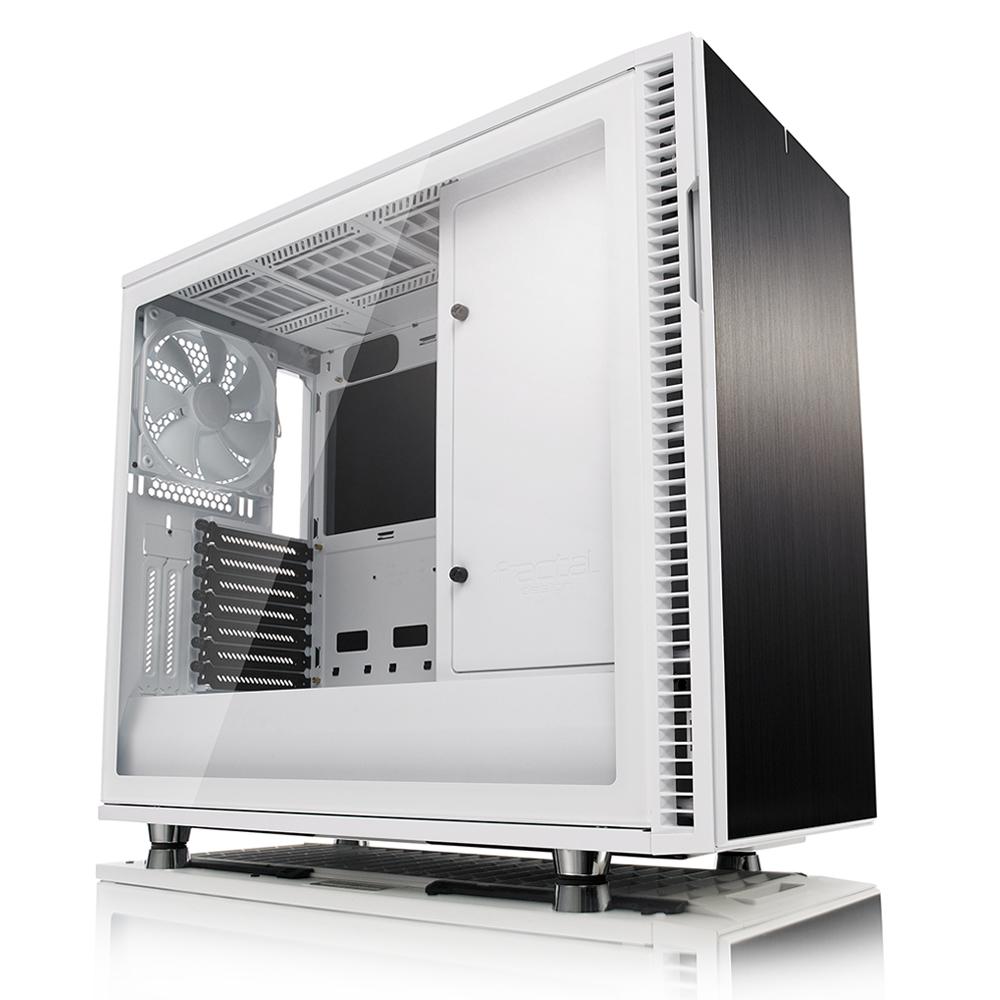 Caja PC E-ATX Fractal Design Define R6 USB-C Vidrio Templado Blanca