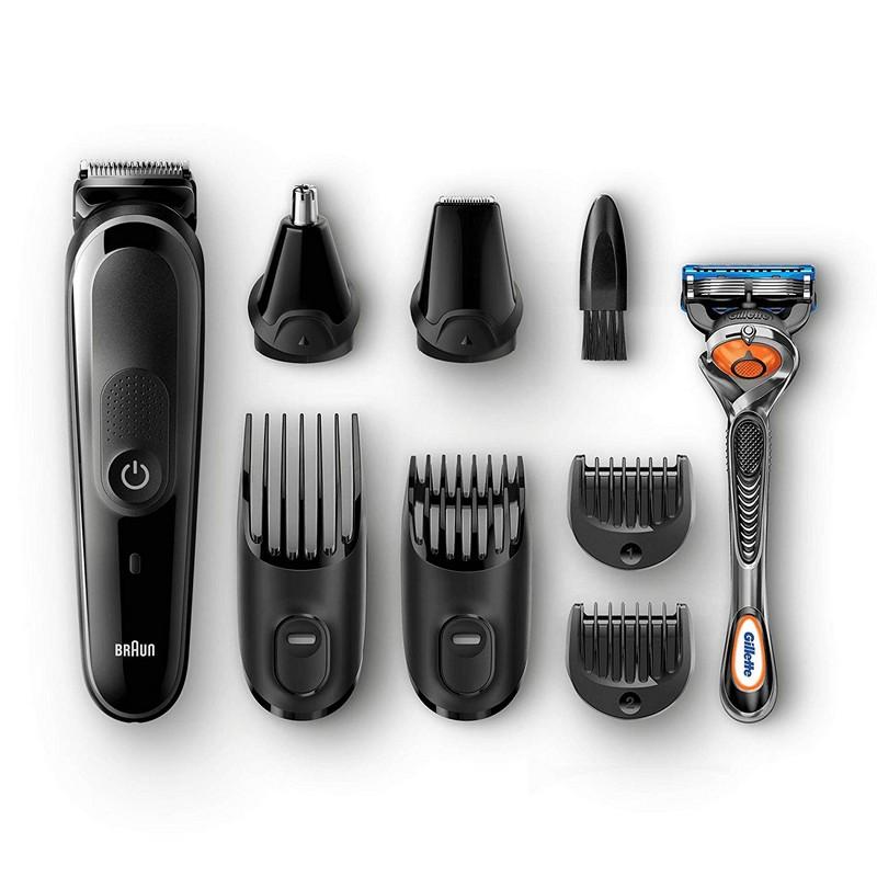 Cortapelos Braun MGK5260 + Maquinilla Gillette Fusion5 ProGlide