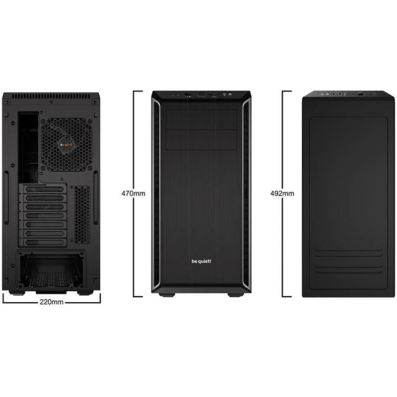 Caja PC BeQuiet! Pure Base 600 ATX