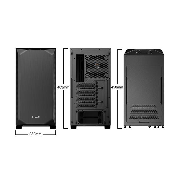 Caja PC be quiet! Pure Base 500 ATX Negra