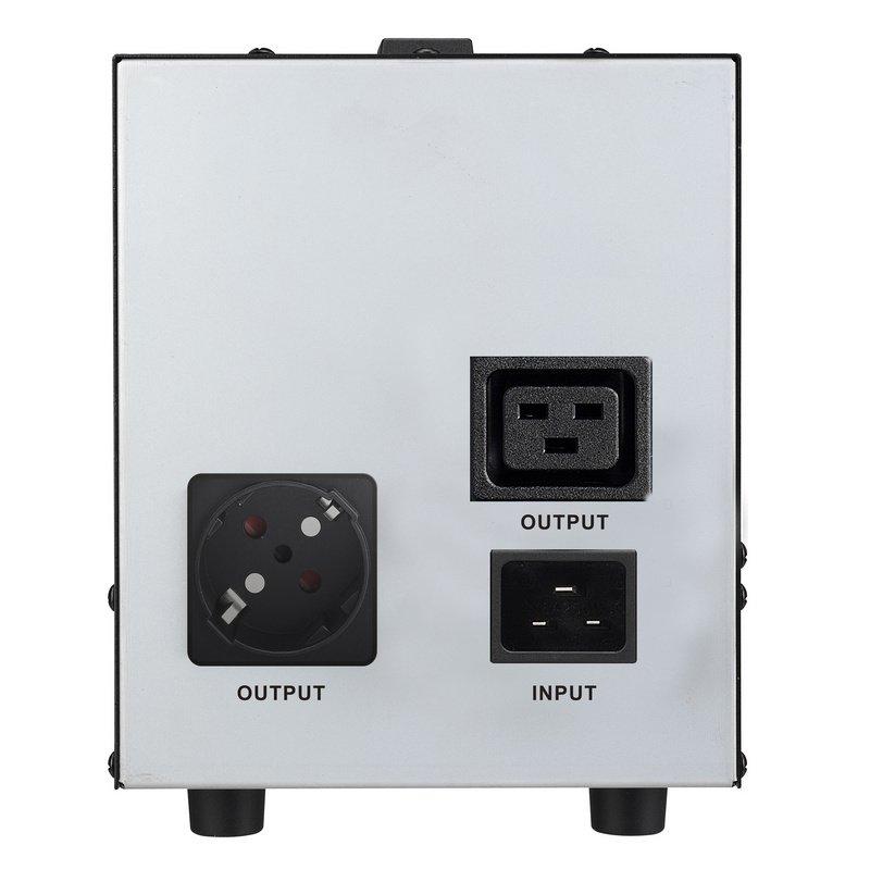 Regulador de Voltaje PowerWalker AVR 3000 SIV 3000VA SAI/UPS Negro