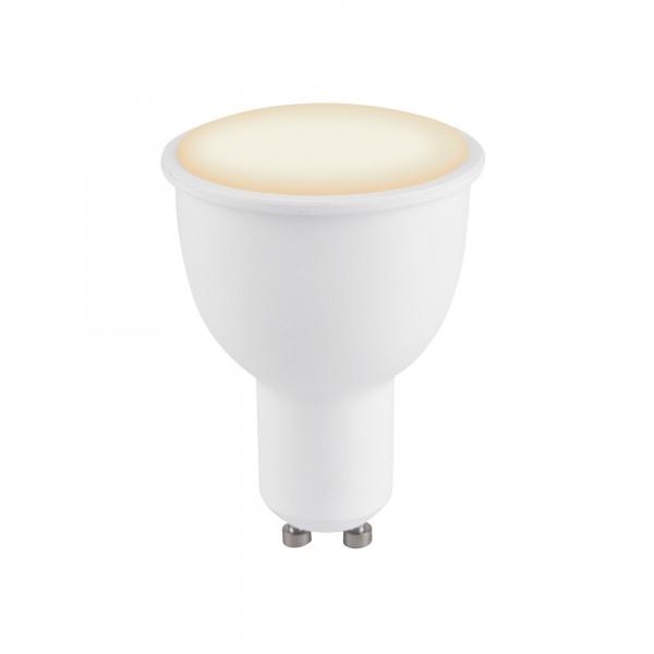 Foco LED Inteligente Smart Echo GU10 4.5W 380lm Blanco Cálido a Frío
