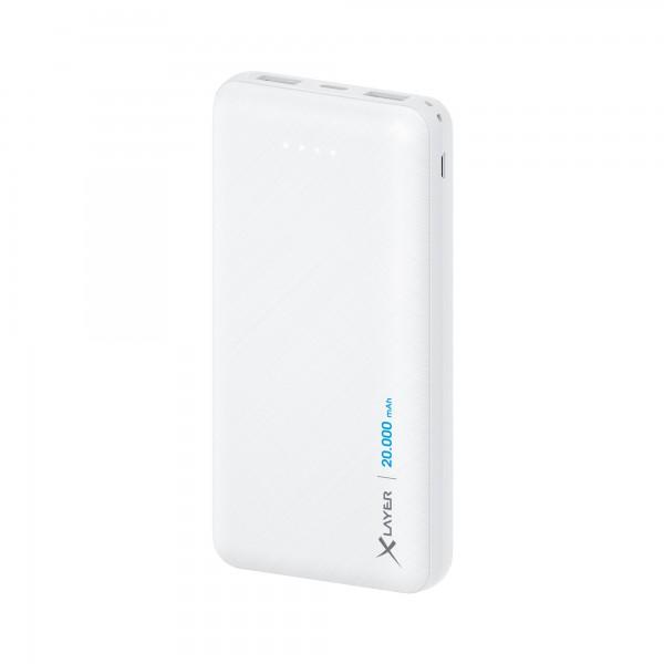 Powerbank Xlayer Micro White 20.000mAh
