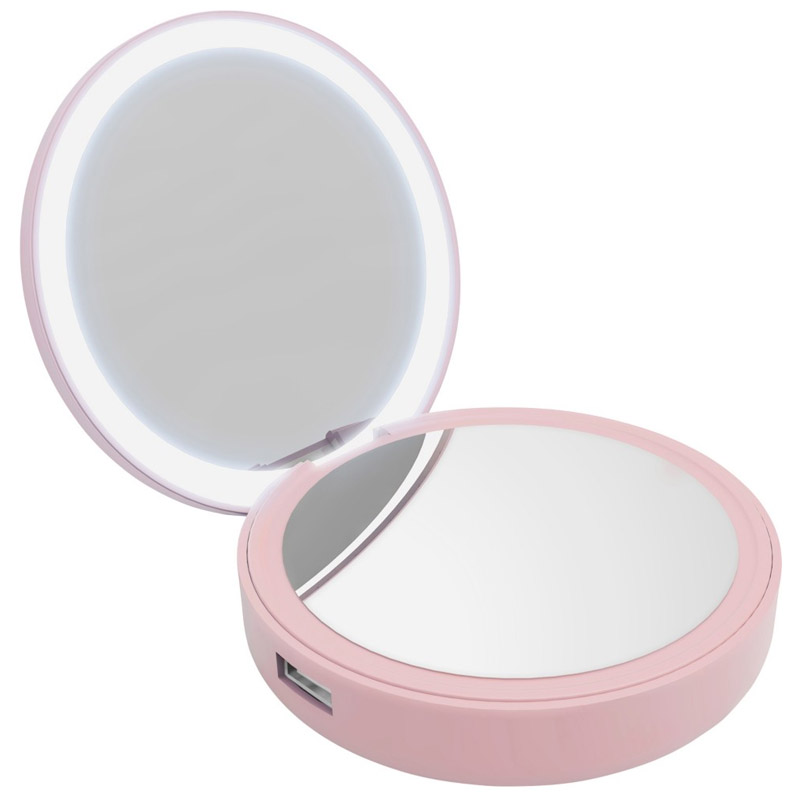 PowerBank Lotta Power Make-up Mirror Rose 4000mAh