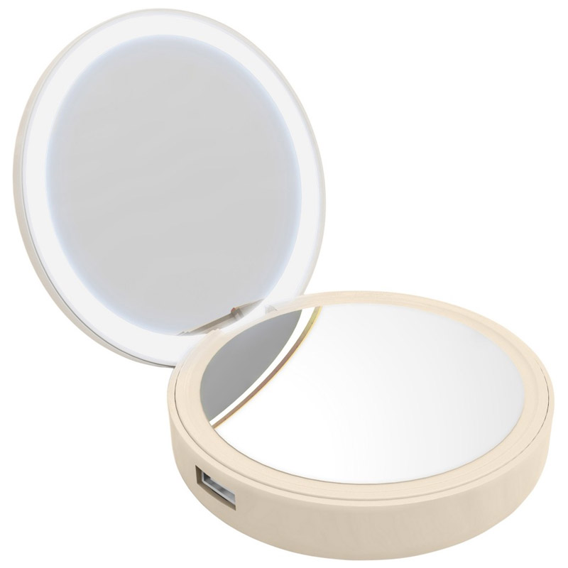 PowerBank Lotta Power Make-up Mirror Gold 4000mAh