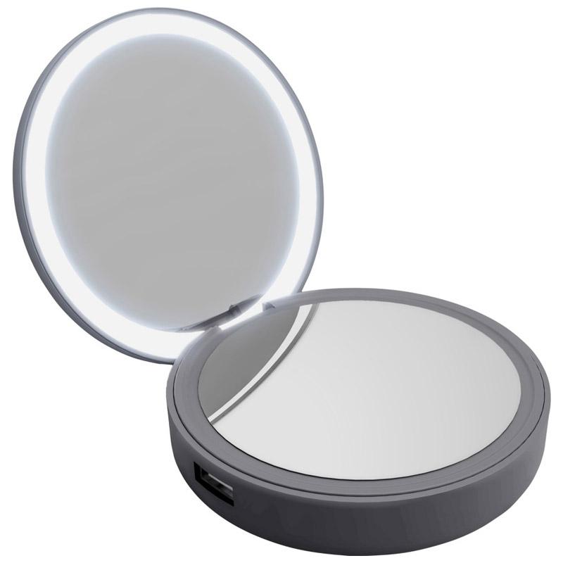 PowerBank Lotta Power Make-up Mirror Space Grey 4000mAh