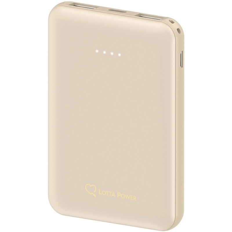 PowerBank Lotta Power 5000mAh Gold