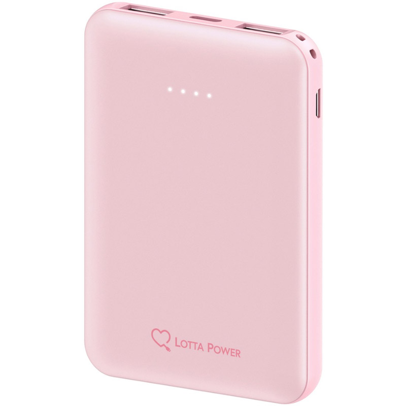 PowerBank Lotta Power 5000mAh Rose