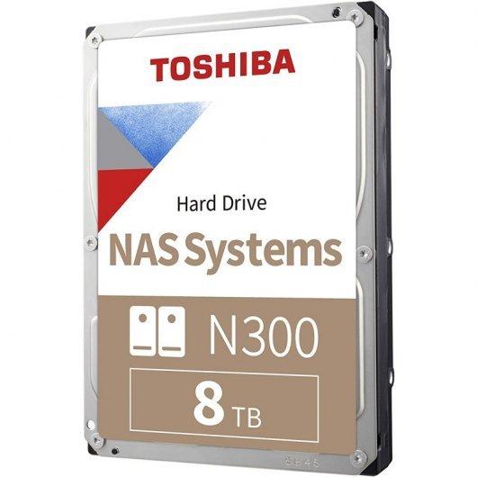 Disco Duro NAS Toshiba N300 3.5 8TB SATA 3
