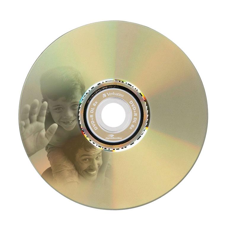 DVD+R Doble Capa 8X Verbatim LightScribe v1.2 Caja Jewel 1 uds