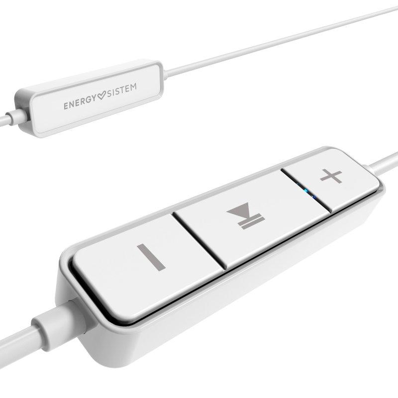Auriculares Bluetooth con Micrófono Energy Sistem Earphones 1 Blanco