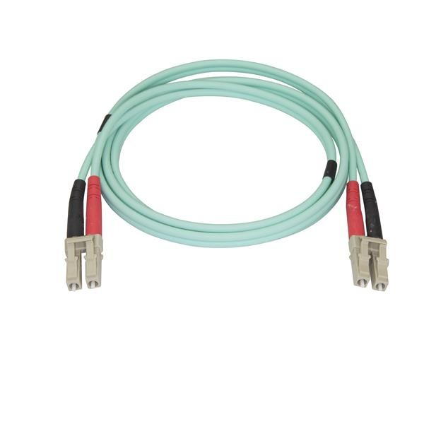 Cable de 1M de Fibra Óptica Aguamarina StarTech 450FBLCLC1