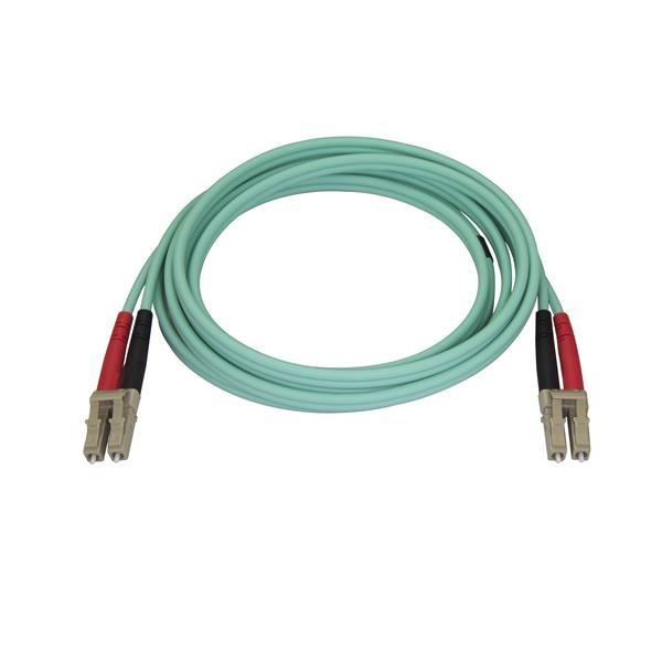 Cable de 2M de Fibra Óptica Aguamarina StarTech 450FBLCLC2