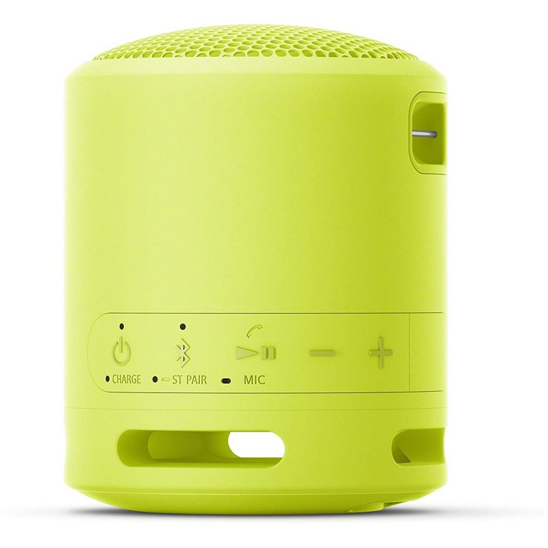 Altavoz Bluetooth Sony SRS-XB13 5W Amarillo Limón