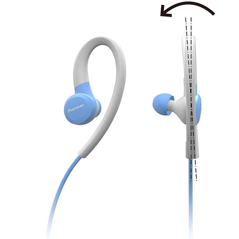 Auriculares Bluetooth Deportivos Pioneer SE-E6BT Azul