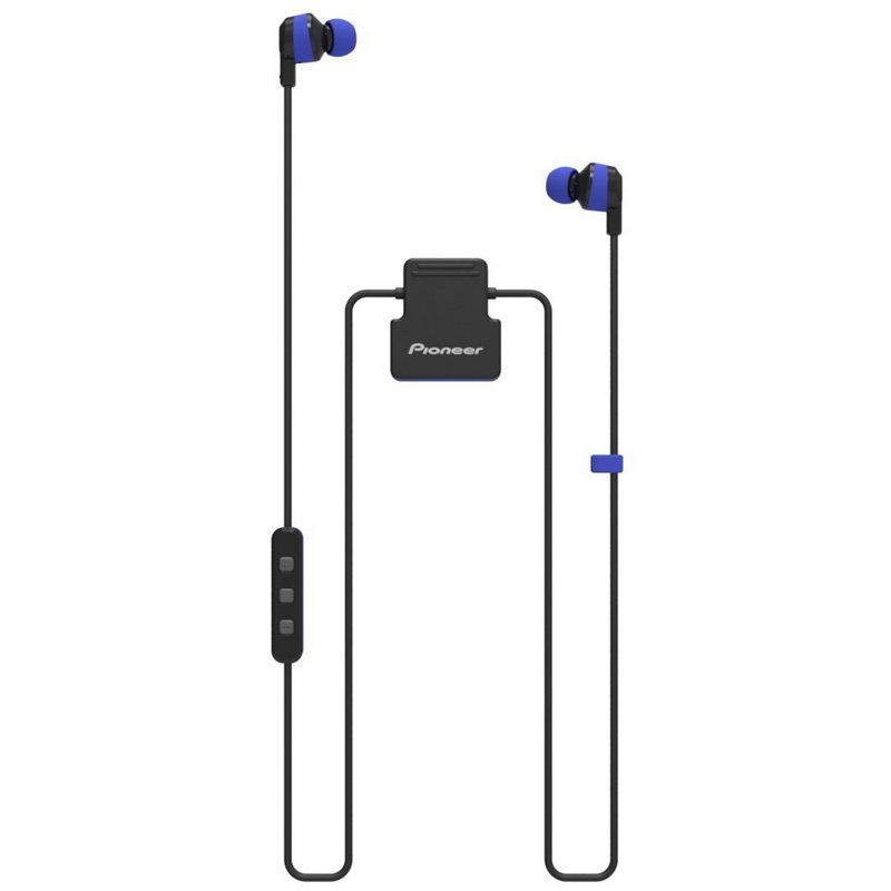 Auriculares Deportivos Pioneer ClipWear Active Bluetooth Azules