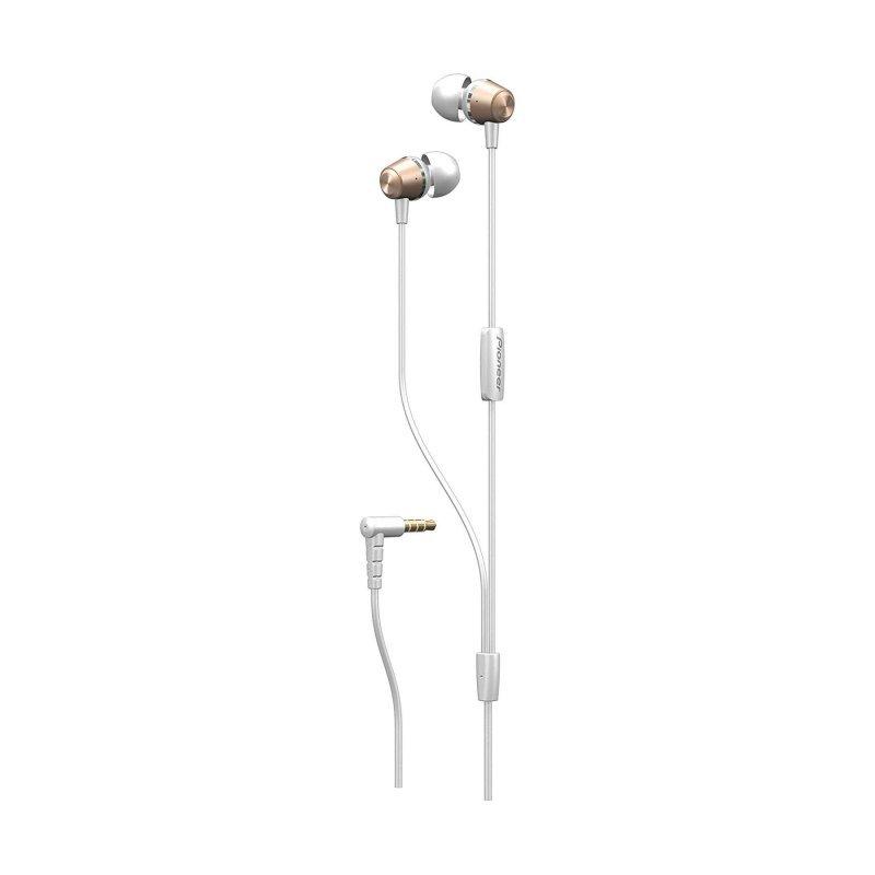 Auriculares Pioneer SE-QL2T con Micrófono Blanco/Oro