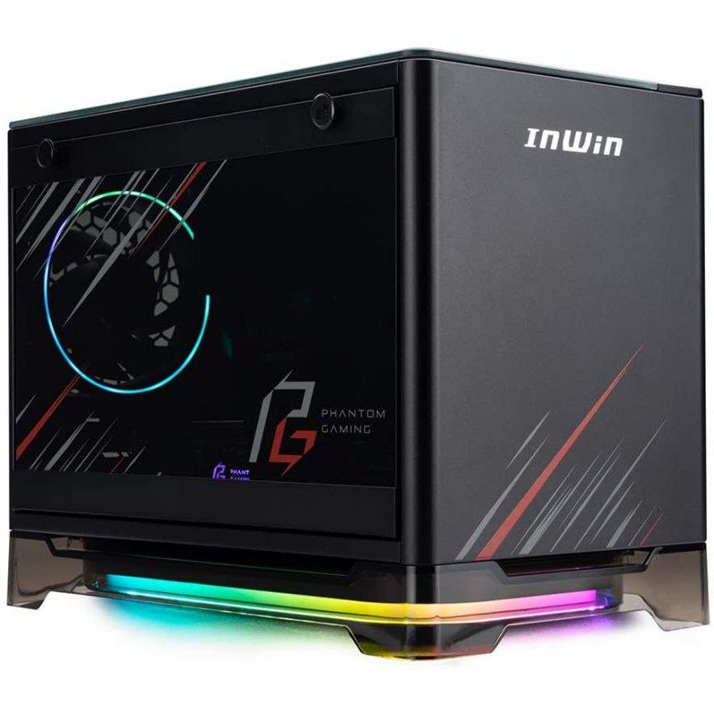 Caja PC InWin A1 Plus Phantom Gaming Cristal Templado + InWin PSU 650W 80+Gold