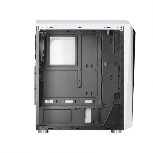 Caja PC Mars Gaming MCL RGB con Cristal Templado Blanco