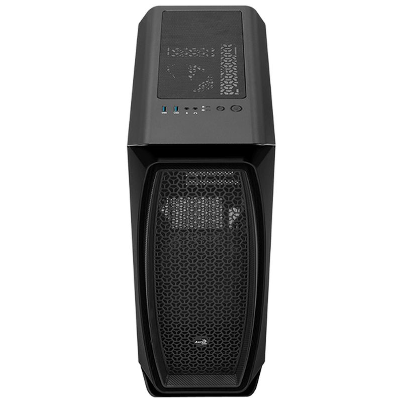 Caja PC Aerocool Aero One Cristal Templado USB 3.1 ATX Negra