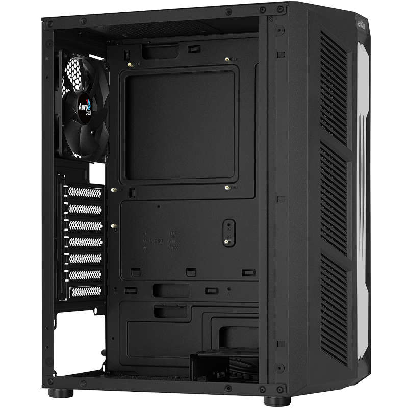 Caja PC Aerocool Prime con Ventana Negro