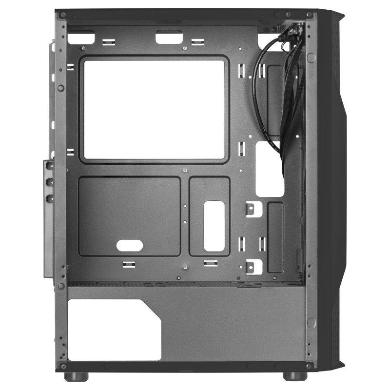 Caja PC ATX Mars Gaming MCA con Ventana Lateral Negro