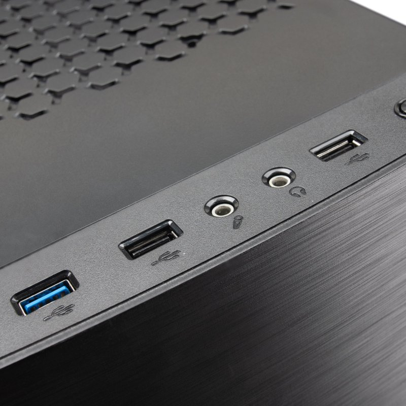 Caja PC Mars Gaming MC220 FRGB USB 30 Negra