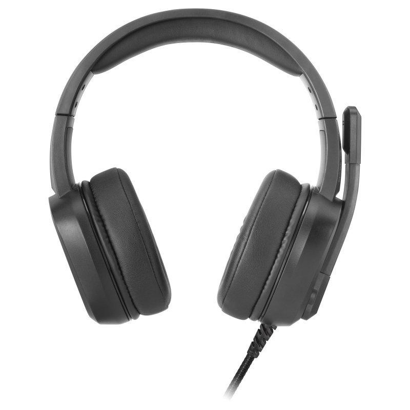 Auriculares con Micrófono Mars Gaming MH320 Negro
