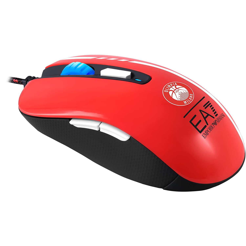 Ratón Gaming Mars Gaming MMEA7 3200DPI Rojo