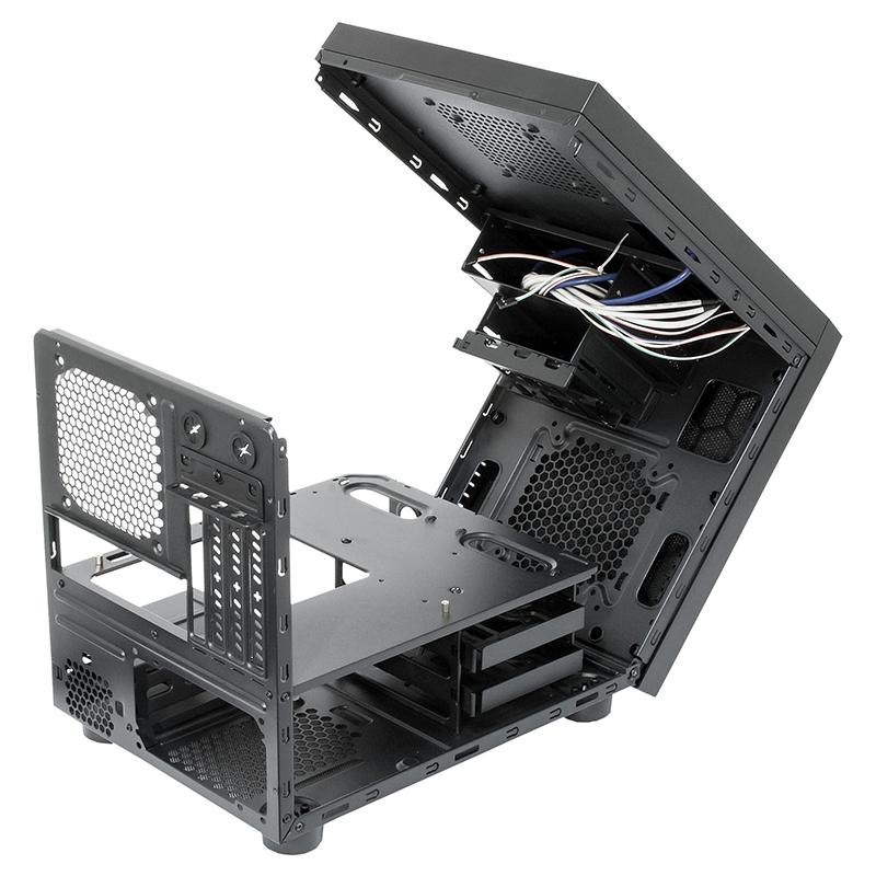 Caja PC Chieftec  CI-01B-OP Mini ITX Negra