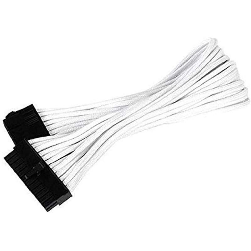 Cable Extensor Silverstone SST-PP07-MBW ATX de 24 pines a ATX de 24 pines 30cm